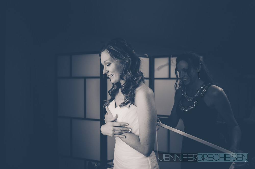 Beautiful Bride Tiffany at Harvest Community Church in Concord NC by Jennifer Brecheisen Fine Art Wedding Photographer
