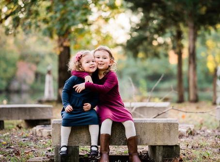 Bowen Fall Family Session | Fort Mill, SC Family Photographers