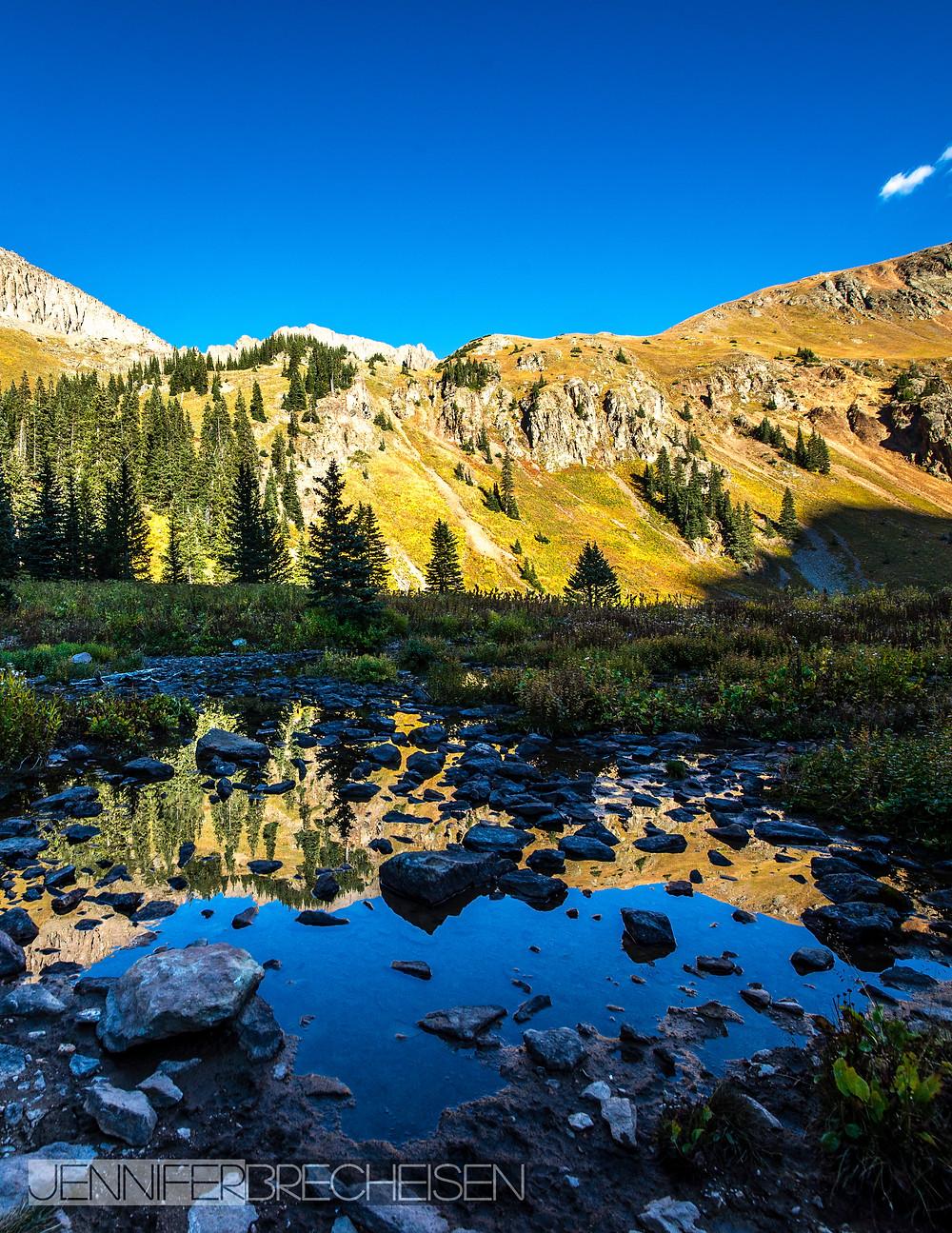 Lower Blue Lake Mt. Sneffels September 2016
