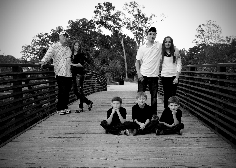family 3 bnw 5x7