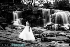 Fall's Park Bridal Session Greenville SC Charlotte NC Fine Art Wedding Photographer