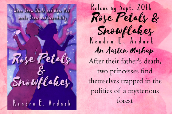 Six Frosted Roses Blog Tour: Rose Petals & Snowflakes by Kendra E. Ardnek