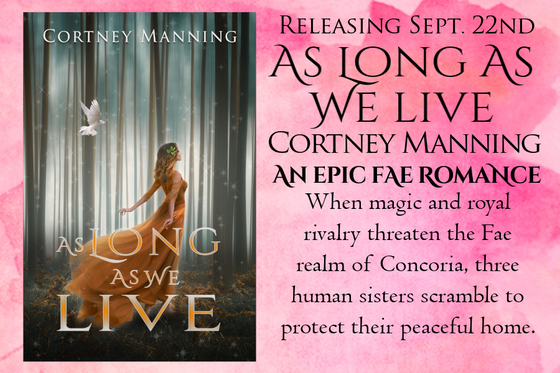 Six Frosted Roses Blog Tour: As Long As We Live by Cortney Manning
