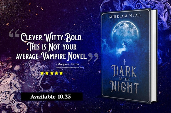 Bog Tour: Dark is the Night by Mirriam Neal
