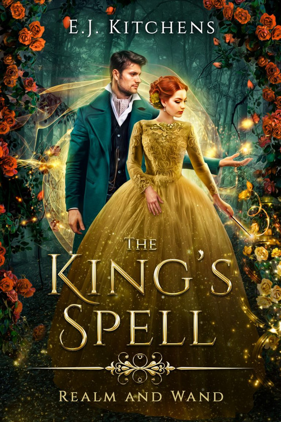Cover Reveal: The King's Spell by E. J. Kitchens