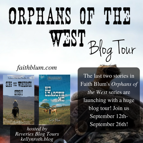 Blog Tour: Orphans of the West by Faith Blum