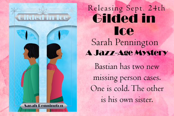 Six Frosted Roses Blog Tour: Gilded in Ice by Sarah Pennington