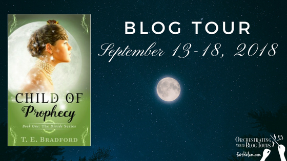 Blog Tour - Child of Prophecy by T. E. Bradford