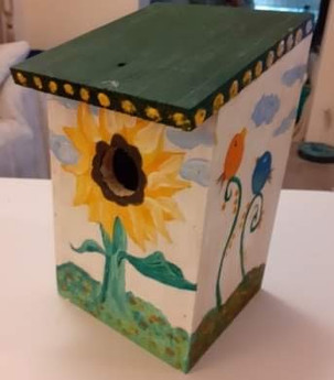 Sunflower bird box.jpg