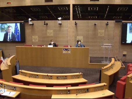 CAEU- Audition Valdis Dombrovskis, Vice-Président exécutif de la Commission européenne