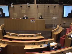 Commission des affaires européennes: Auditions consacrées à la justice et aux affaires intérieures.