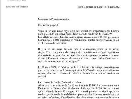Ma lettre ouverte au Premier ministre
