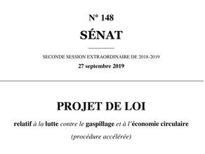 Comprendre les enjeux du Projet de loi Economie circulaire