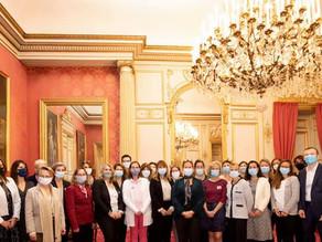 Echange entre ELY et l'association des Administrateurs Territoriaux de France (AATF).