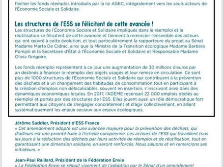 FOCUS: un des nombreux amendements du projet de loi Climat et résilience.