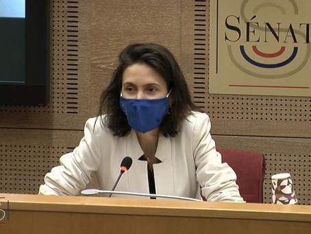 Audition   de   Valérie   Hayer,   négociatrice du Parlement européen sur les ressources propres