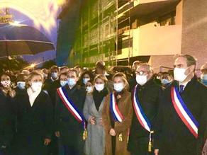 Marche blanche à Conflans-Sainte-Honorine