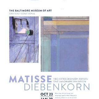 2016   Matisse / Diebenkorn