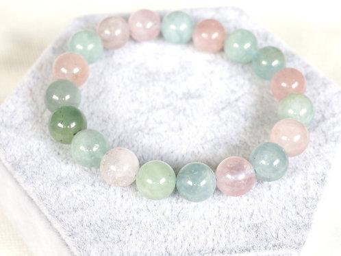 Morganite Bracelets 10mm