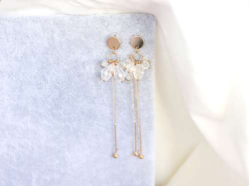 Multi Raindrop Earrings