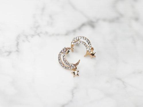 Mini Lunar Earrings