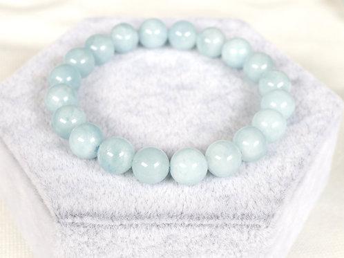 Aquamarine Bracelets 10mm