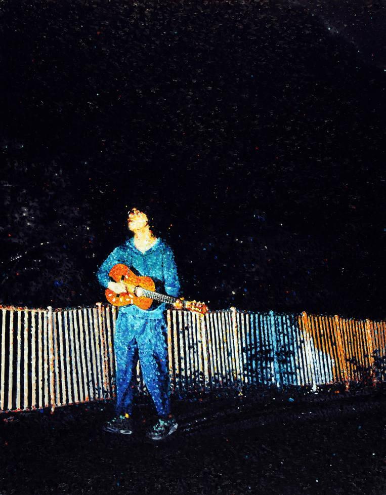 マージナル・マン - ギターの男 Marginal man - a man with a guitar