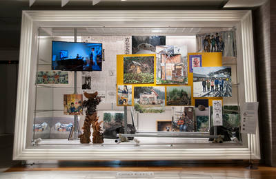 山形藝術界隈展〇三での展示風景 installation view at the Yamagata Geijutsu Kaiwai Exhibition 03