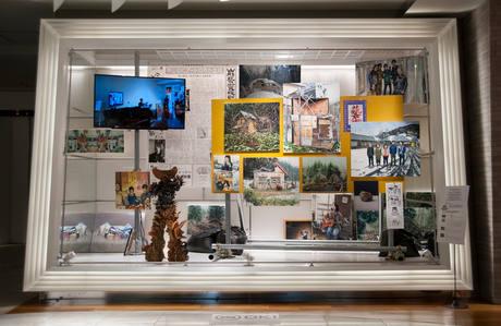 山形藝術界隈展〇三での展示風景|installation view at the Yamagata Geijutsu Kaiwai Exhibition 03