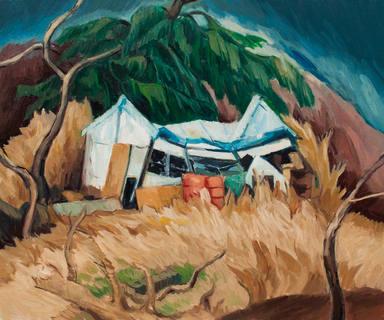 小屋 A hut