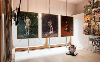 山形藝術界隈展05での展示風景 installation view at the Yamagata Geijutsu Kaiwai Exhibition 05