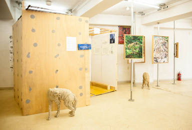 山形藝術界隈展一二での展示風景 installation view at the Yamagata Geijutsu Kaiwai Exhibition 12