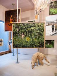 山形藝術界隈展〇五.五での展示風景 installation view at the Yamagata Geijutsu Kaiwai Exhibition 05.5