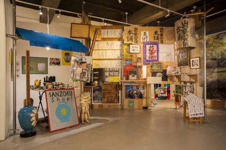 山形藝術界隈展一三での展示風景|installation view at the Yamagata Geijutsu Kaiwai Exhibition 13