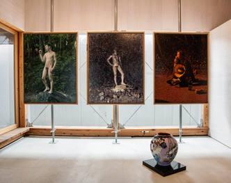 山形藝術界隈展〇五での展示風景 installation view at the Yamagata Geijutsu Kaiwai Exhibition 05