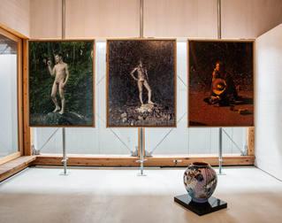山形藝術界隈展〇五での展示風景|installation view at the Yamagata Geijutsu Kaiwai Exhibition 05