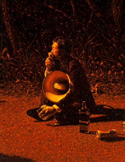 マージナル・マン - 拡声器の男 Marginal Man - The man with the loudspeaker.