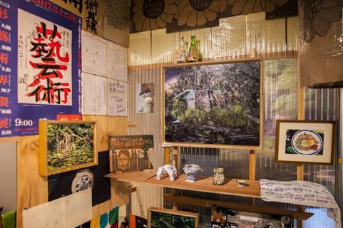 山形藝術界隈展一三での展示風景 installation view at the Yamagata Geijutsu Kaiwai Exhibition 13