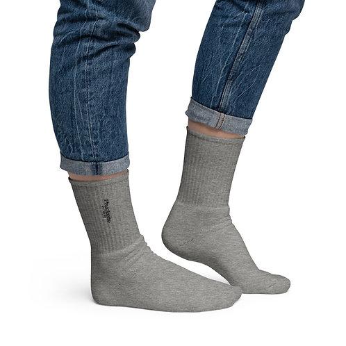 Phuckette Embroidered Socks