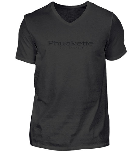 Phuckette V-Neck T-Shirt