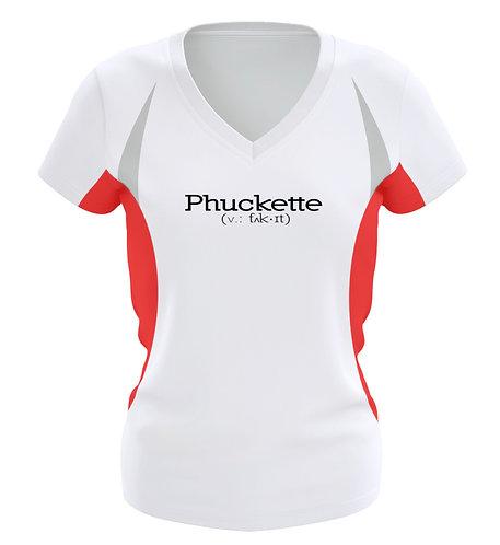 Phuckette Women's Running T-Shirt