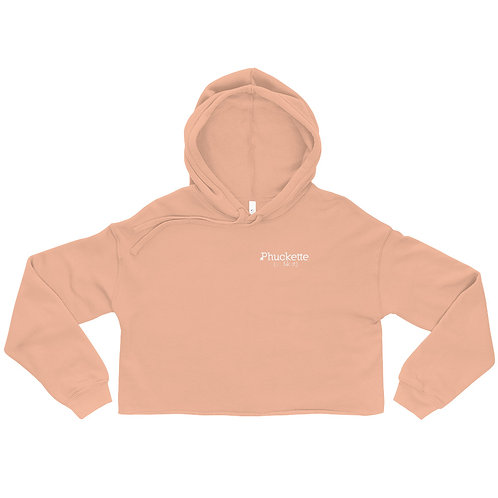 Phuckette Cropped Hoodie