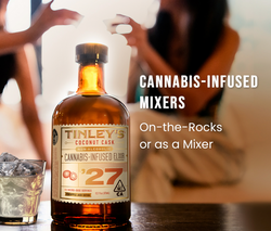 Tinley - Cannabis infused mixers