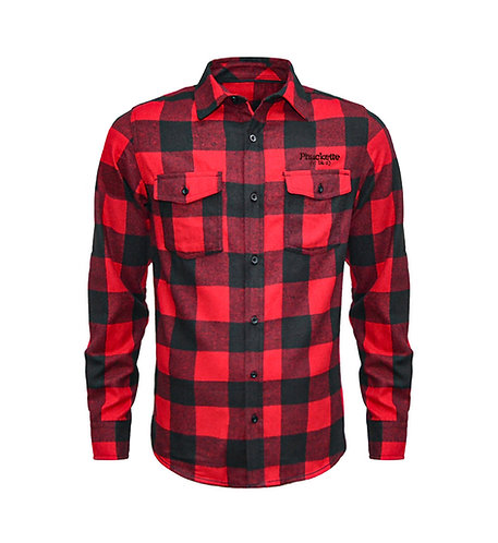 Phuckette Embroided Unisex Flannel