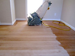 Sanding & Refinishing Hardwood