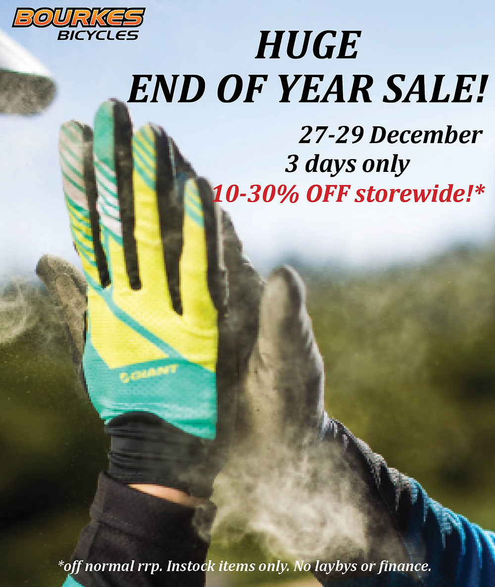 End of year sale poster