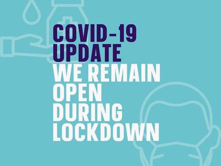 Lockdown Operating Measures...Again...