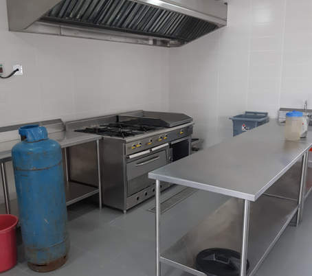 Cocina de produccion