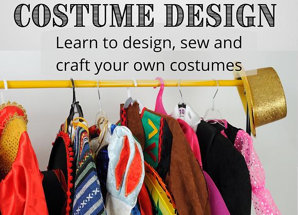 Costume Design Workshop - In Person