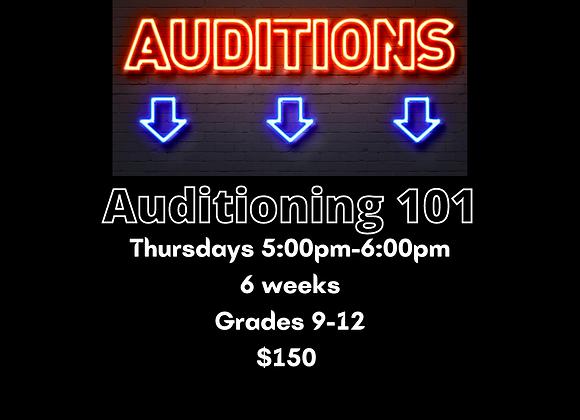 Auditioning 101 with Maya